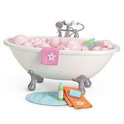 American Girl Bubble Bathtub - My AG 2013