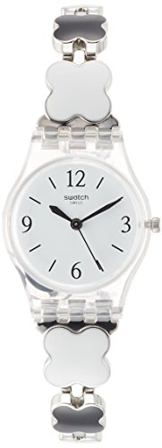 Swatch Clovercheck Ladies Stainless Steel Band Watches - Online Swatch Store