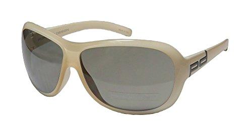 Porsche Design 8520 Mens/Womens Designer Full-rim Sunglasses/Eyewear (65-12-125, Beige) (Green Ranger Morph Suit)