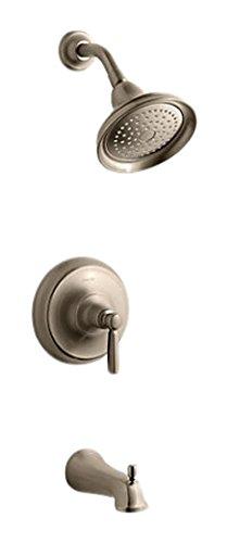 Kohler TS10581-4-BV Vibrant Brushed Bronze BANCROFT BATH/SHOWER TRIM. METAL 4 Bv Kohler Brushed Bronze