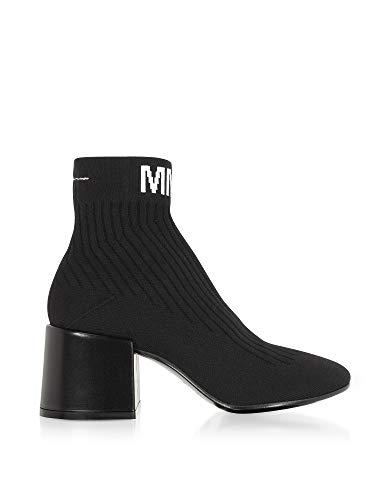 MAISON Noir Polyamide Mm6 MARGIELA Femme S59WU0070P033896435 Bottines Owfp0Oqr