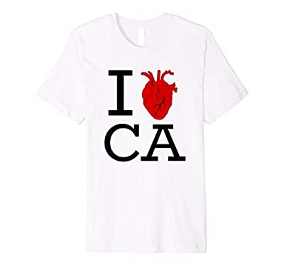 I Heart CA shirt