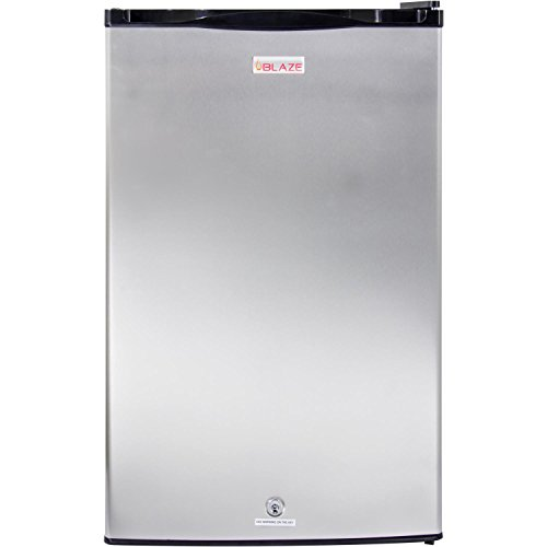 Blaze Outdoor Rated Stainless Steel Refrigerator (BLZ-SSRF130), 4.5 Cu Ft. by Blaze
