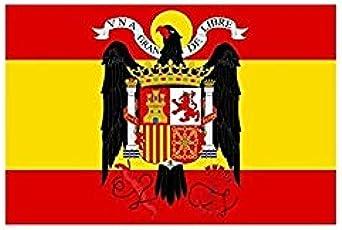 Gemelolandia Bandera Española Aguila de San Juan 90x150cm: Amazon.es: Ropa y accesorios