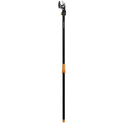 Nonstick coated Hardened Steel Blade 54 in. EZ Reach Stik Tree Pruner by Fiskars