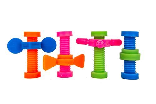 B-KIDS Pencil Fidget Toy Spinner Bulk (48 Pack) by B-KIDS (Image #3)