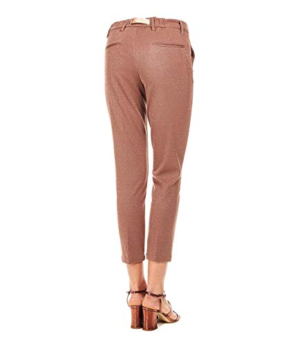 19sd013717 Viscose Sand Femme Marron Pantalon White x7Eq0CIq