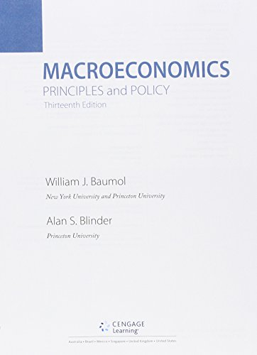 Bundle: Macroeconomics: Principles And Policy, 13th + Aplia Printed Access Card