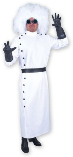 [Teen Mad Scientist Halloween Costume (Size: Teen 14-18)] (Mad Scientist Costumes For Kids)