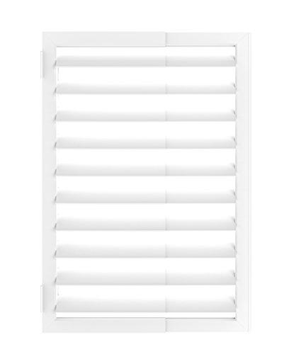 Umbra Expansa Expanding Window Shutter White - 1009842-660-REM