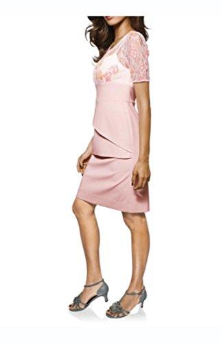 Brooke Gr rosa Ashley Stufenkleid Designer Spitzen event awxxYdqS1