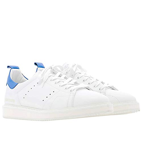Goose Sneakers Uomo Pelle Bianco Golden G34ms631p1 PTkiXOZu