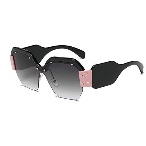 4 la Marco 2018 Sol de Sunglasses Europeo Personalidad de y YANJING Color Gafas New Ladies de Europeo 5 A8xwxTCqO