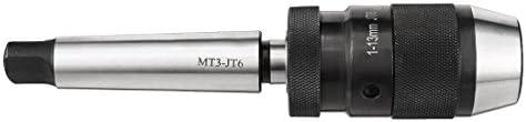 1mm-13mm MT3-APU13 Model S20 Self-Tighten Keyless Drill Chuck w MT3-JT6 Arbors