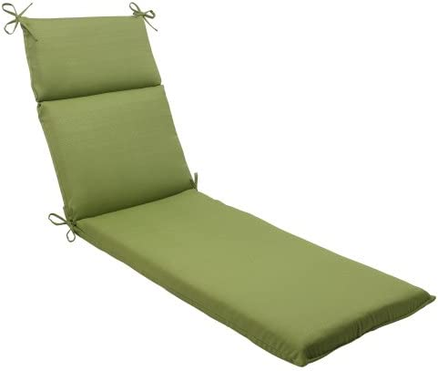 Pillow Perfect Indoor Outdoor Forsyth Chaise Lounge Cushion, Green
