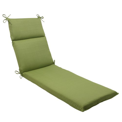 (Pillow Perfect Indoor/Outdoor Forsyth Chaise Lounge Cushion, Green)