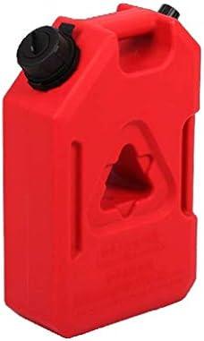 赤いプラスチックジェリー缶、ジェリー缶燃料ディーゼルガソリン、帯電防止(3.8L、7.5L、11.3L)
