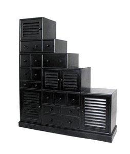 Wayborn Tansu Step Cabinet 136865 (Step Tansu Cabinet)