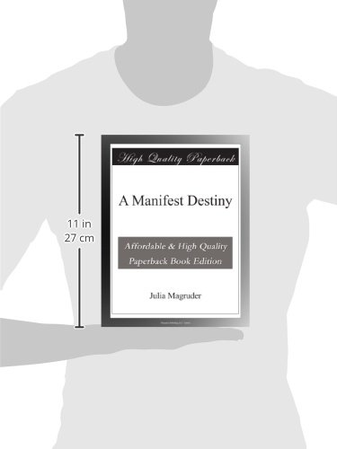 A Manifest Destiny: Julia Magruder: Amazon com: Books