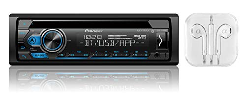 Pioneer DEH-S4000BT Single DIN Bluetooth in-Dash Car Stereo Receiver