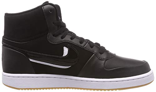 gum Nike Brown Prem Basket Uomo Da white Scarpe Light 001 Ebernon Nero Mid black black qOxrPq