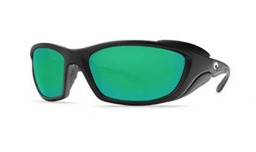 Costa Del Mar Sunglasses - Man-o'-War- Glass / Frame: Black Lens: Polarized Green Mirror Wave 580 Glass by Costa Del Mar
