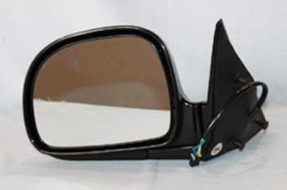 NEW LH DOOR MIRROR FITS CHEVY 95-97 BLAZER 94-97 S10 SPORT UTILITY POWER W/O HEAT GM1320127 17801665 62010G GM30EL GM1320127 (Blazer Door Mirror)