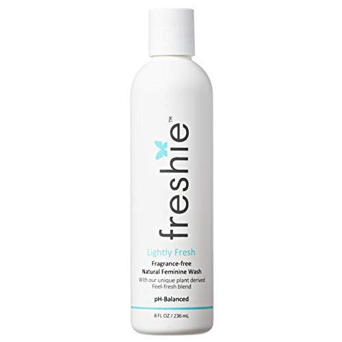 freshie Natural Feminine Care pH-Balanced Cleansing Wash Odor-Blocking Plant-Based Ingredients External Vaginal Hygiene…