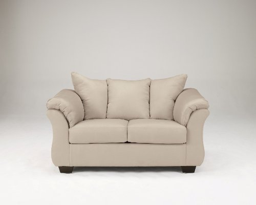 Darcy Stone Contemporary Living Room Loveseat For Sale