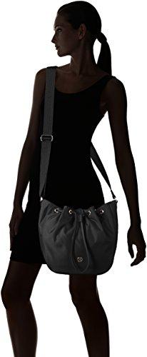 Bogner Tinra - Bolso de hombro Mujer Schwarz (Black/Teak)