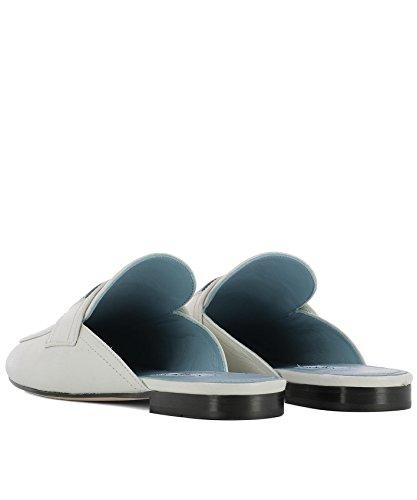 Sandales Pour Femmes Prada 1d479ixpyf0009 En Cuir Blanc