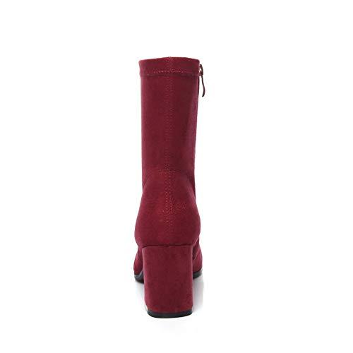 Compensées Femme Bordeaux Balamasa Abm12279 Rouge 5 36 Sandales EqHRw7