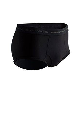 ExOfficio Men's Give N Go Brief, Black, Small