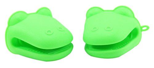 Alligator Silicone Holder Mitt Green product image