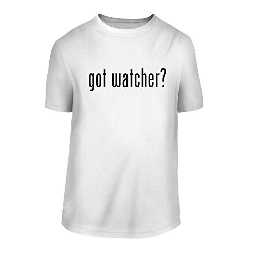 got watcher? - A Nice Men's Short Sleeve T-Shirt Shirt, White, Large (Weight Sprayer Watchers Oil)