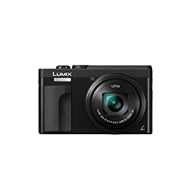 Panasonic DMC-ZS70K Lumix 20.3 Megapixel, 4K Digital Camera, Touch Enabled Display, 30x Leica DC Vario-Elmar Lens, Wi-Fi