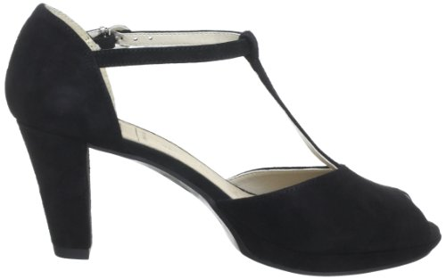 Caprice 9-9-28322-30 Damen Sandalen Schwarz (Black Suede)