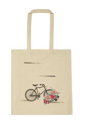 Bicicletta borsa di tela