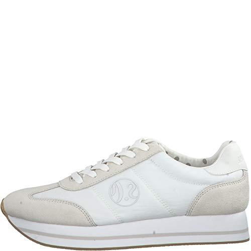 23612 Zapatillas cordones Mujer Deportivos White calzado Zapatos 22 señora S oliver qUIZ55wA