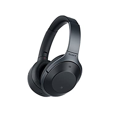 Sony MDR-1000X/B Wireless Bluetooth Noise Cancelling Hi-Fi Headphones (Certified Refurbished)