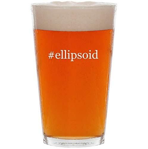 #ellipsoid - 16oz Hashtag All Purpose Pint Beer Glass