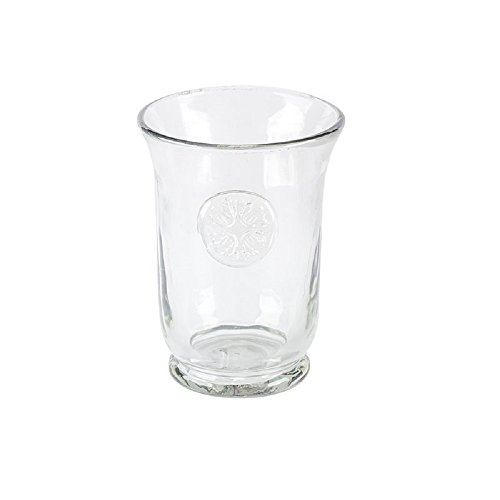Medallion Grey Hammered Glass Highball (Set of 4) - GG Collection
