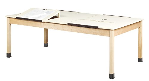 Diversified Woodcrafts DT-90PL 4 Station Drafting Table, 30