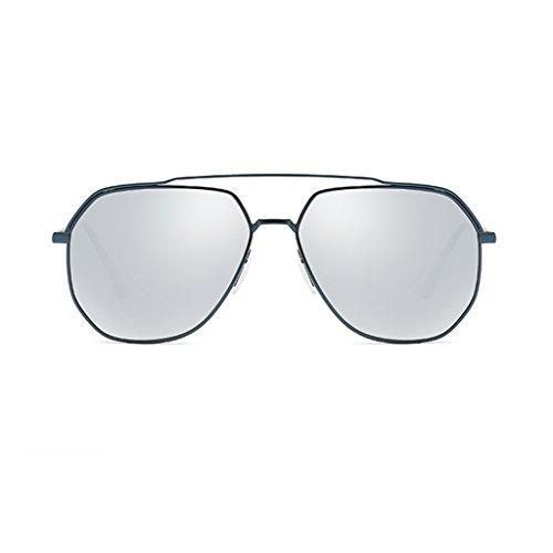 Gafas GAOYANG Marea De Conductor Alta Sol Box De De Gafas Conducir Rana Silver De Color Sol Polarizada box Masculinas Espejo Blue Definición De 0Iq0AxZ