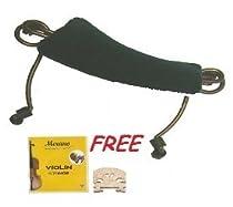 Merano 1/4 Size Violin Shoulder Rest + A Set of Strings + A Bridge