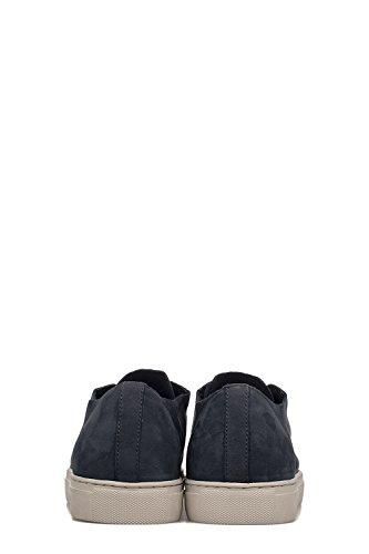 Crime London Sneakers Uomo 11278KS140 Pelle Blu
