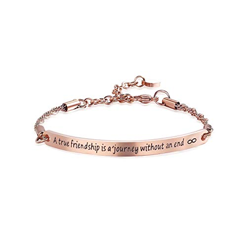 ivyAnan Friendship Bracelet Engraved Message