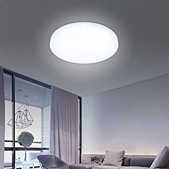 12w LED Modern Deckenlampe Kaltweiss Lampe Wohnzimmer Deckenleuchte Treppen Flur Korridor