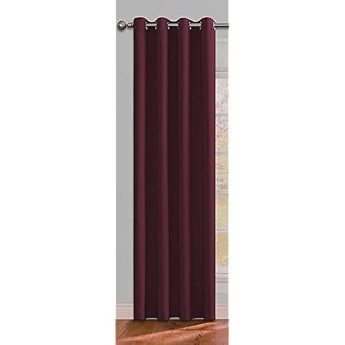 Amazon Curtains Blackout: Thermal Blackout Cafe Curtain: Amazon.com