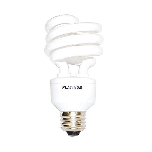 PLATINUM 20W 120V 2700k Mini Twist Compact Fluorescent Light (120v Mini Twist)